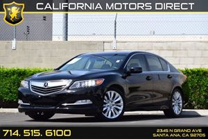 2014 Acura RLX Tech Pkg Carfax 1-Owner - No AccidentsDamage Reported Audio  Auxiliary Audio Inp