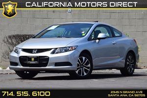 2013 Honda Civic Cpe EX Carfax 1-Owner Audio  Auxiliary Audio Input Compact Spare Tire  Wheel