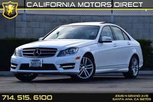 2014 MERCEDES C250 Luxury Sedan Carfax Report 4 Cylinders Audio  Auxiliary Audio Input Chrome