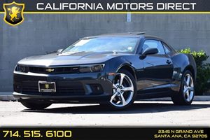 2014 Chevrolet Camaro SS Carfax 1-Owner Audio  Auxiliary Audio Input Convenience  Back-Up Came