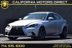 2015 Lexus IS 250  Carfax 1-Owner Audio  Auxiliary Audio Input Compact Spare Tire Mounted Insid