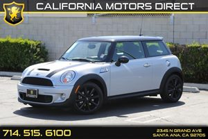 2013 MINI Cooper Hardtop S Carfax 1-Owner - No AccidentsDamage Reported Audio  Auxiliary Audio