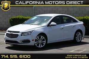 2016 Chevrolet Cruze Limited LTZ Carfax 1-Owner - No AccidentsDamage Reported  Summit White