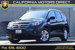 2014 Honda CR-V EX-L Carfax Report Chrome Side Windows Trim And Black Front Windshield Trim Conv