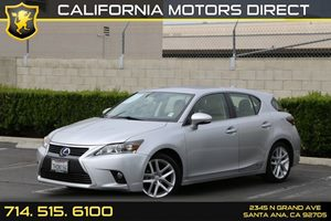 2014 Lexus CT 200h Hybrid Carfax 1-Owner - No AccidentsDamage Reported  Silver Lining Metallic