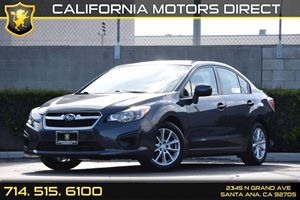 2014 Subaru Impreza Sedan Premium Carfax 1-Owner - No AccidentsDamage Reported Audio  Auxiliary