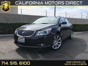 2013 Buick LaCrosse Touring Carfax 1-Owner  Carbon Black Metallic  We are not responsible for