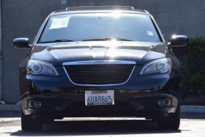 2013 Chrysler 200 Touring Carfax Report Audio  Auxiliary Audio Input Body-Color Door Handles C