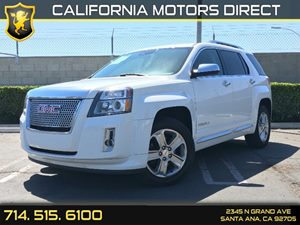 2013 GMC Terrain Denali Carfax 1-Owner Air Conditioning  AC Audio  Premium Sound System Conv