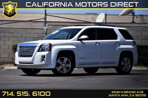 2013 GMC Terrain Denali Carfax 1-Owner  Summit White 26791 Per Month - On Approved Credit