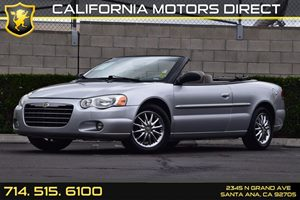 2006 Chrysler Sebring Conv Limited Carfax Report - No AccidentsDamage Reported  Bright Silver