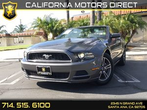 2013 Ford Mustang V6 Premium Carfax Report - No AccidentsDamage Reported  Sterling Gray Metall