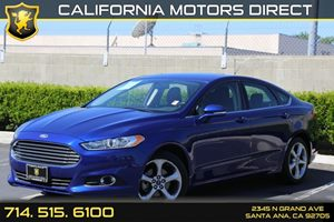 2014 Ford Fusion SE Carfax 1-Owner  Deep Impact Blue Metallic  We are not responsible for typo