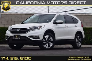 2016 Honda CR-V Touring Carfax 1-Owner - No AccidentsDamage Reported Air Conditioning  AC Con