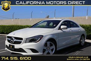 2016 MERCEDES CLA250 Coupe Carfax 1-Owner - No AccidentsDamage Reported  Cirrus White  We are