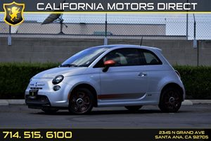 2014 FIAT 500e  Carfax 1-Owner - No AccidentsDamage Reported  Argento Silver -13507 Per