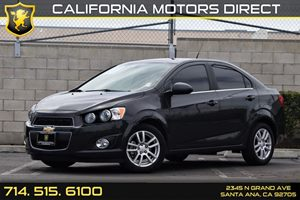 2014 Chevrolet Sonic LT Carfax Report - No AccidentsDamage Reported  Black Granite Metallic