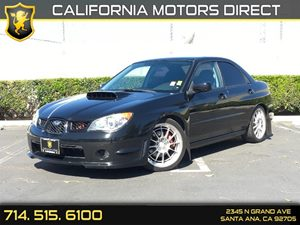 2006 Subaru Impreza Sedan WRX TR Carfax Report  Obsidian Black Pearl  We are not responsible f