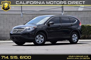 2014 Honda CR-V LX Carfax 1-Owner  Crystal Black Pearl  20945 Per Month - On Approved Credit