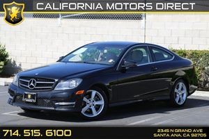 2014 MERCEDES C 250 Coupe Carfax 1-Owner - No AccidentsDamage Reported  Black  We are not res