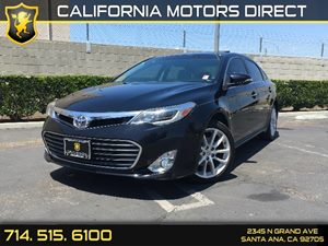 2013 Toyota Avalon Limited Carfax 1-Owner - No AccidentsDamage Reported Air Conditioning  AC