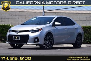 2015 Toyota Corolla S Carfax Report  Classic Silver Metallic  We are not responsible for typog