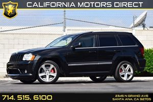 2010 Jeep Grand Cherokee SRT-8 TMU AS-IS Carfax Report 8 Cylinders Air Conditioning  AC Audio