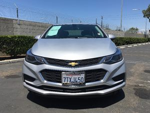 2017 Chevrolet Cruze LT Carfax 1-Owner  Silver Ice Metallic  We are not responsible for typogr