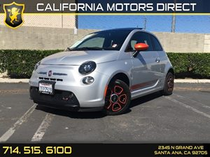 2014 FIAT 500e  Carfax 1-Owner - No AccidentsDamage Reported  Argento Silver  -B 14911 P