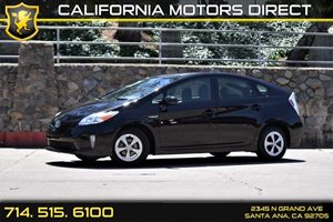 2015 Toyota Prius One Carfax 1-Owner  Black   17697 Per Month - On Approved Credit  See our