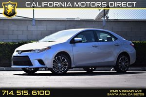 2016 Toyota Corolla S Plus Carfax Report  Classic Silver Metallic 18996 Per Month - On Appro