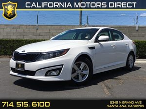 2015 Kia Optima LX Carfax 1-Owner Air Conditioning  AC Audio  Auxiliary Audio Input Clearcoa