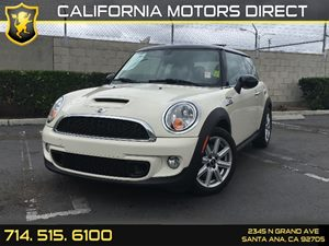 2013 MINI Cooper Hardtop S Carfax 1-Owner  Pepper White  17047 Per Month - On Approved Credi