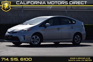 2015 Toyota Prius One Carfax 1-Owner - No AccidentsDamage Reported  Classic Silver Metallic