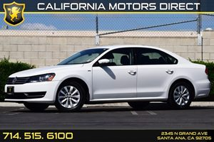2014 Volkswagen Passat Wolfsburg Ed Carfax 1-Owner 3 12V Dc Power Outlets 4 Cylinders Audio  A
