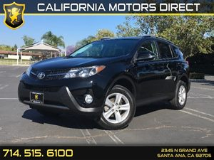 2014 Toyota RAV4 XLE Carfax 1-Owner - No AccidentsDamage Reported  Black  We are not responsi