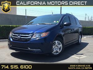 2014 Honda Odyssey LX Carfax 1-Owner Air Conditioning  AC Air Conditioning  Rear AC Audio