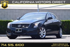 2014 Cadillac ATS Luxury RWD Carfax 1-Owner  Black Diamond Tricoat  We are not responsible for