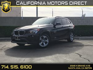 2014 BMW X1 sDrive28i Carfax 1-Owner - No AccidentsDamage Reported  Black Sapphire Metallic