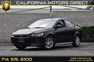 2015 Mitsubishi Lancer ES Carfax 1-Owner  Tarmac Black Pearl  16398 Per Month - On Approved