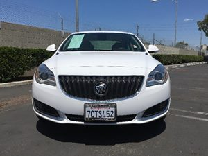 2014 Buick Regal  Carfax 1-Owner  Summit White  We are not responsible for typographical error