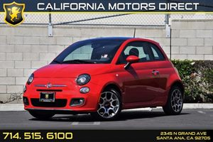 2013 FIAT 500 Sport Carfax 1-Owner - No AccidentsDamage Reported  Rosso Red  12805 Per Mo
