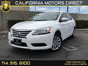 2014 Nissan Sentra FE S Carfax 1-Owner  Aspen White  We are not responsible for typographical