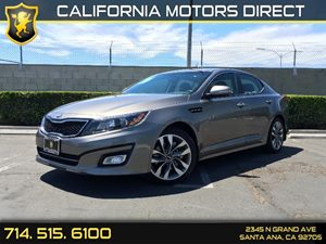2014 Kia Optima SX Carfax 1-Owner Air Conditioning  AC Audio  Auxiliary Audio Input Clearcoa