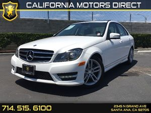 2014 MERCEDES C 250 Luxury Sedan Carfax 1-Owner 2 12V Dc Power Outlets 4 Cylinders Air Conditio
