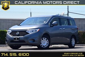 2015 Nissan Quest SV Carfax 1-Owner - No AccidentsDamage Reported  Gray  We are not responsib
