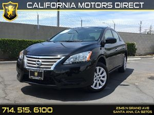 2015 Nissan Sentra S Carfax 1-Owner  Super Black  We are not responsible for typographical err
