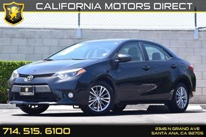 2014 Toyota Corolla LE Plus Carfax 1-Owner - No AccidentsDamage Reported  Black Sand Mica  We