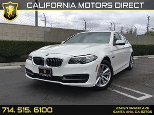 2014 BMW 5 Series 528i Carfax 1-Owner  Alpine White  We are not responsible for typographical