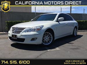 2011 Hyundai Genesis  Carfax Report  White Satin Pearl  We are not responsible for typographic